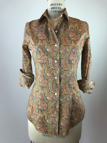 Women's Wave Liberty Print Shirt