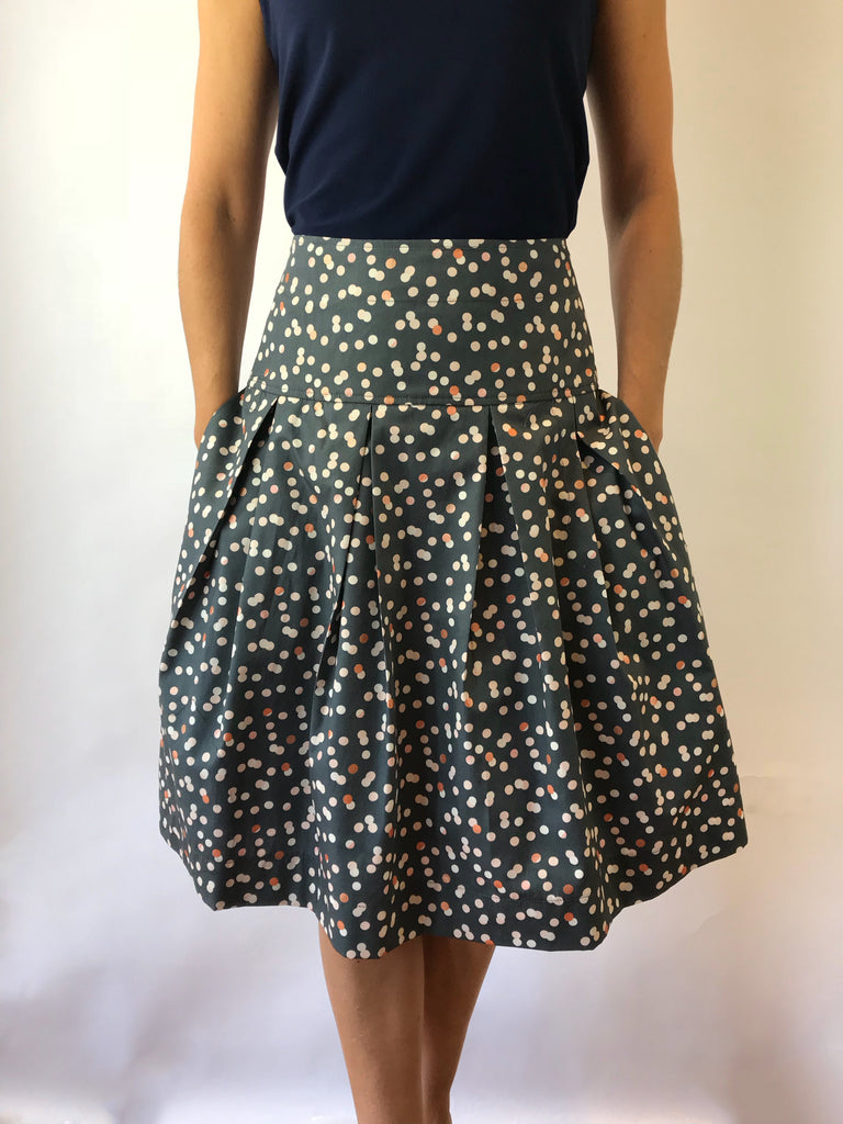 Confetti Print Full Skirt