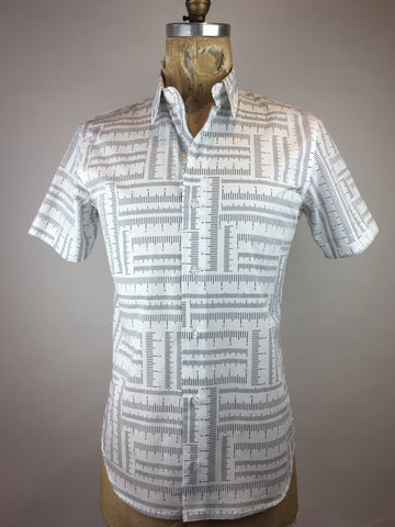 Men's Short Sleeve Ruler Shirt