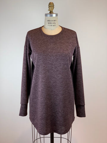 Easy Port/Brown Tunic Sweater