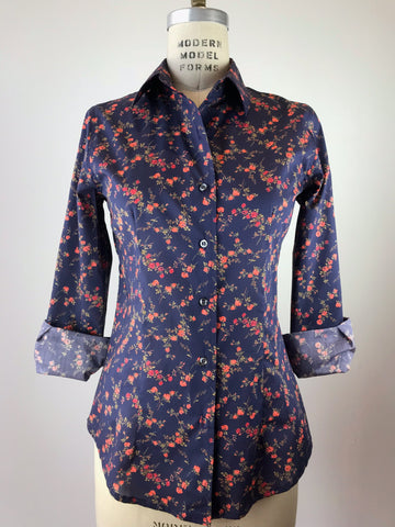 Women's Floral Liberty Print Shirt
