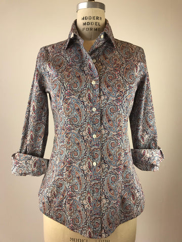 Women's Paisley Liberty Print Shirt