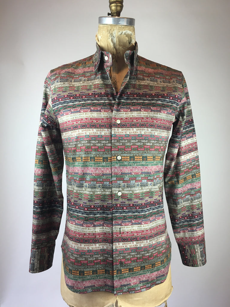 Men's Long Sleeve Cigar Band Shirt