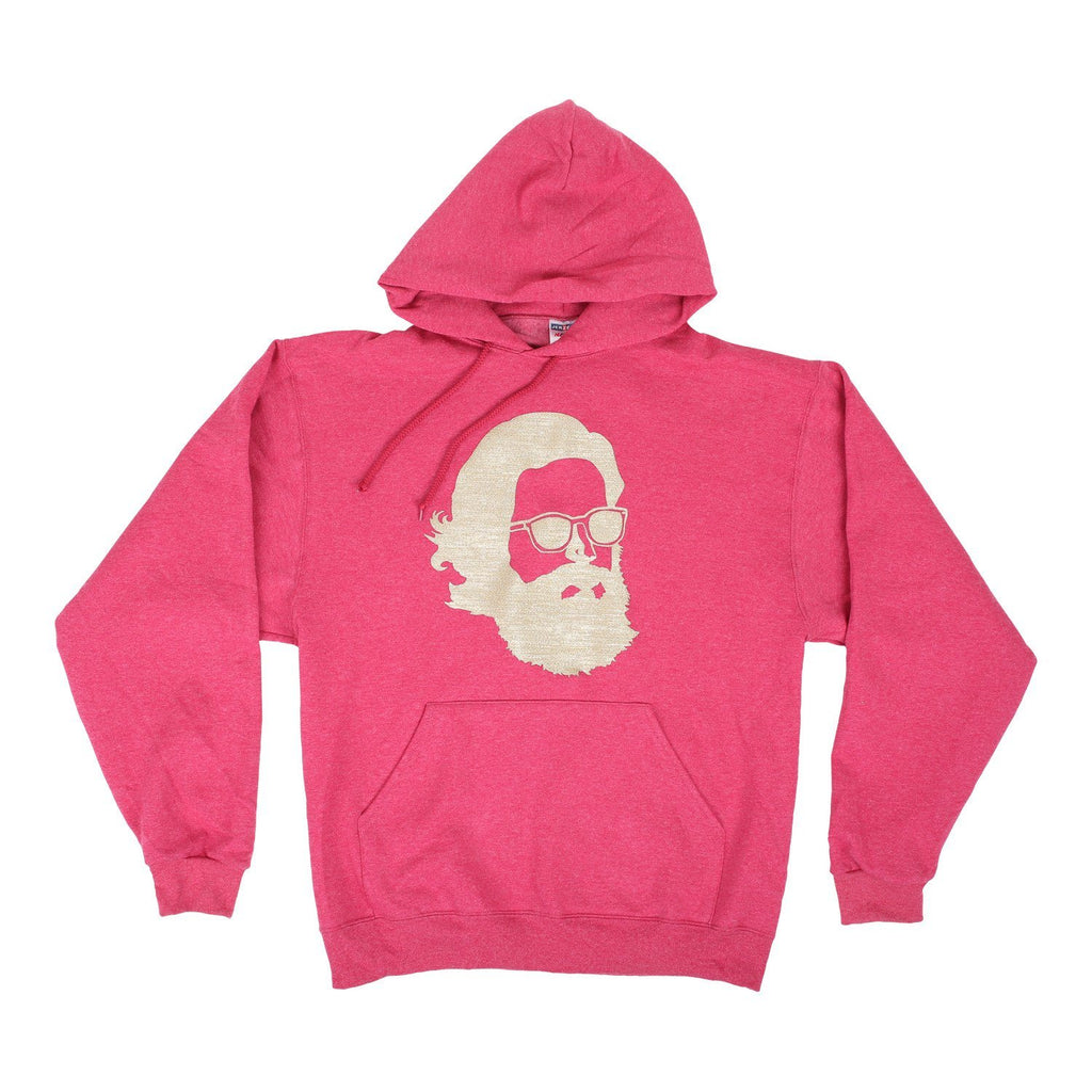 'Misty Face' Tech Wear Hoodie - Gold Shimmer