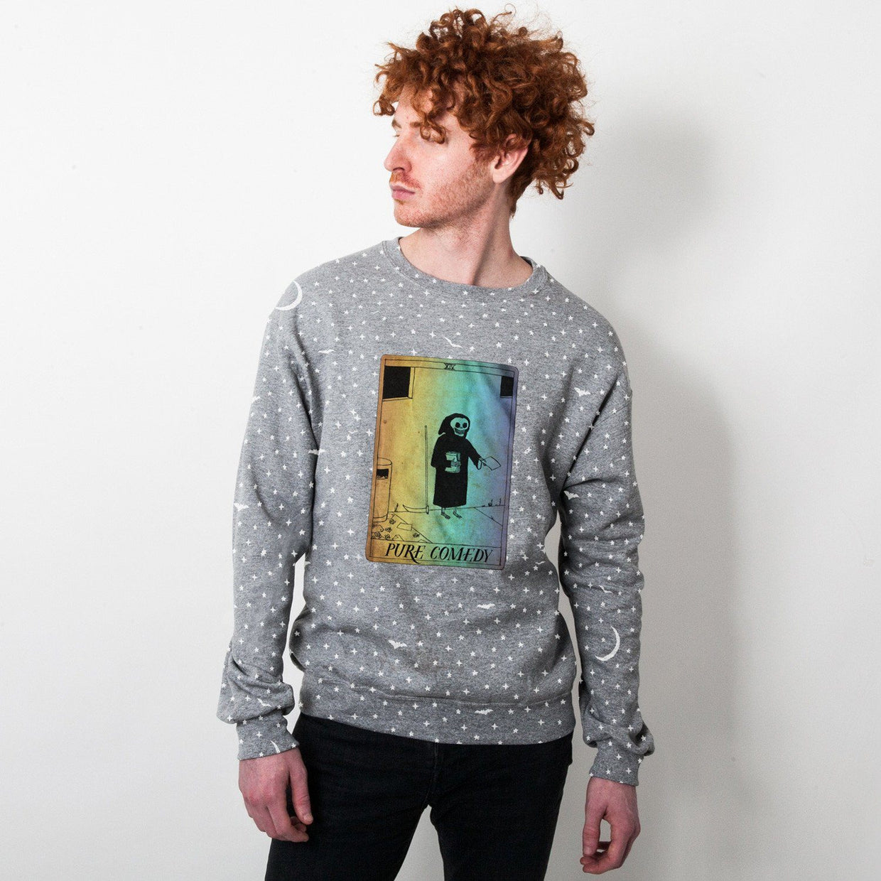 HA Card Unisex Fleece Crewneck