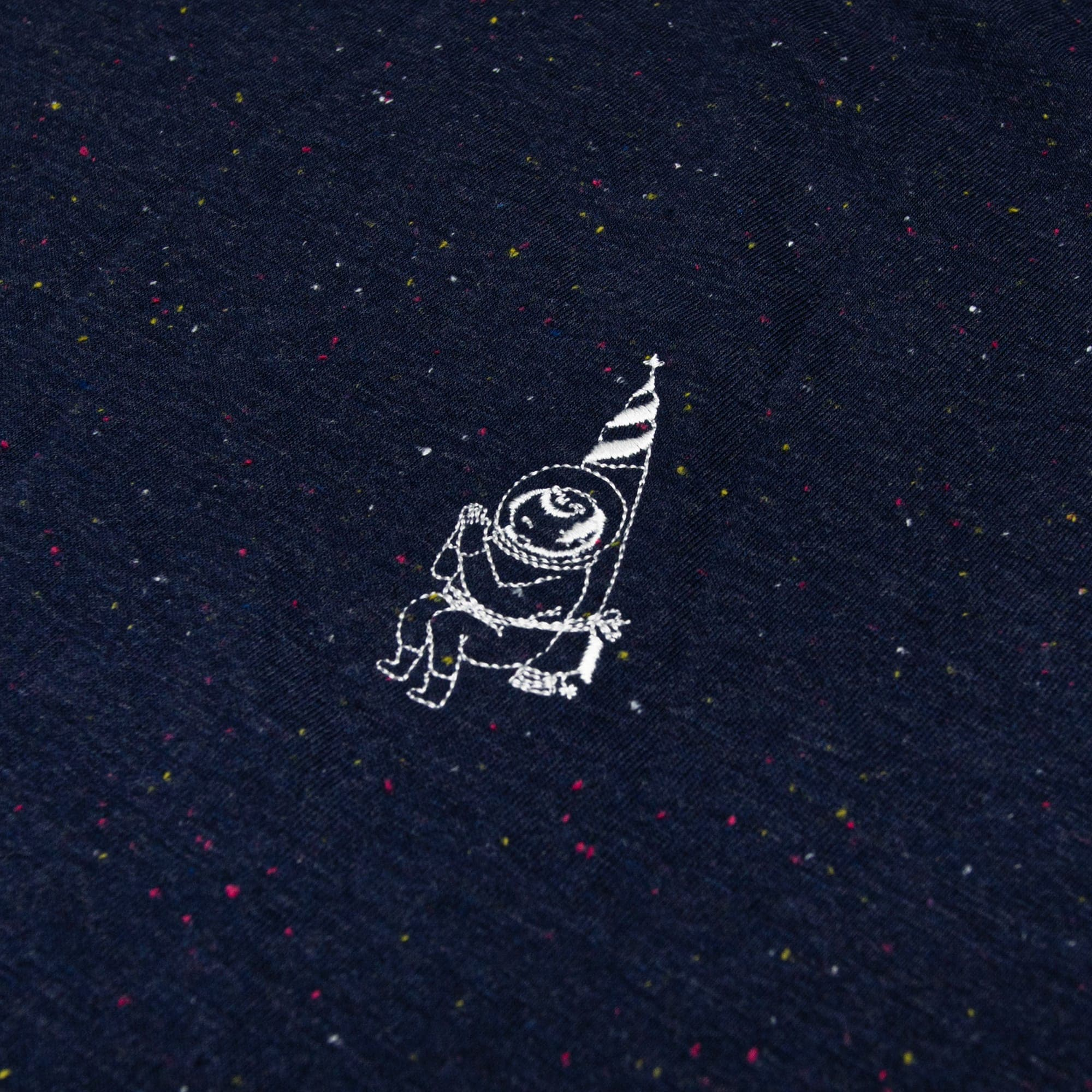 Rocket Man Embroidery Tee