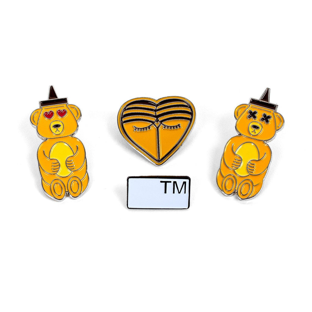 'HONEYBEAR™' Custom Enamel Pins