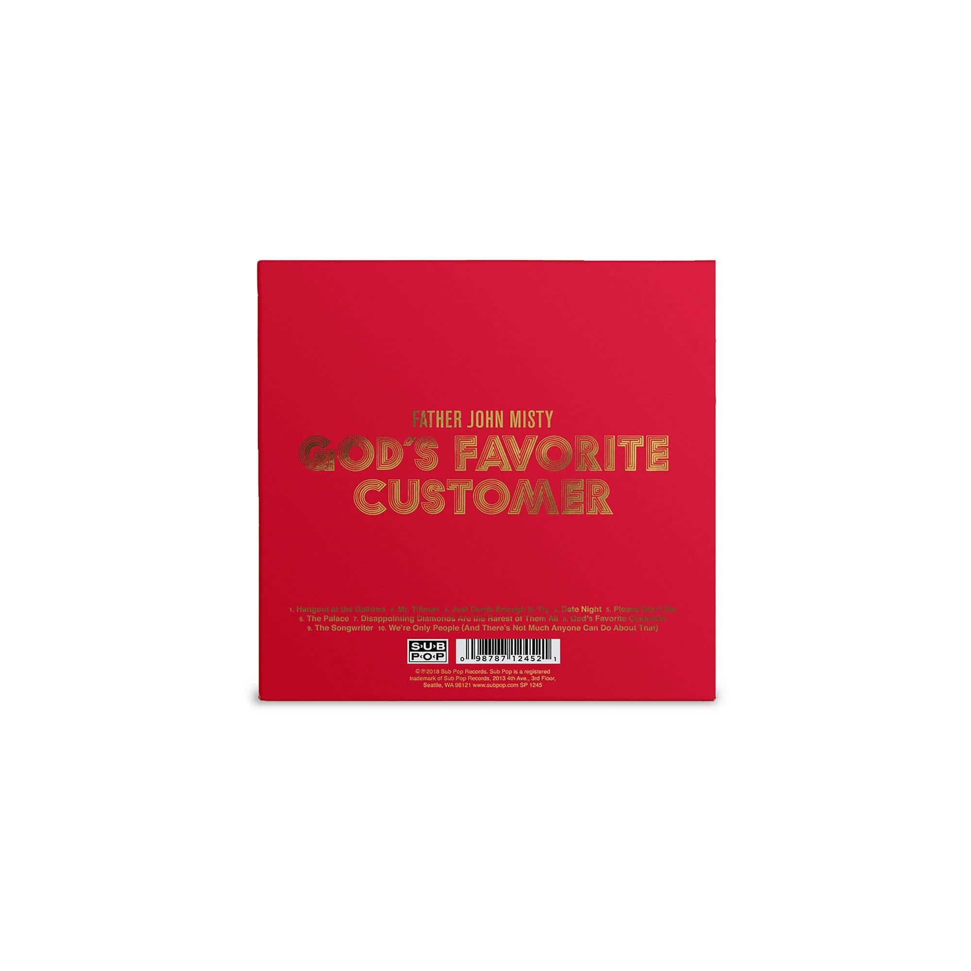 'God's Favorite Customer' CD + MP3 Download