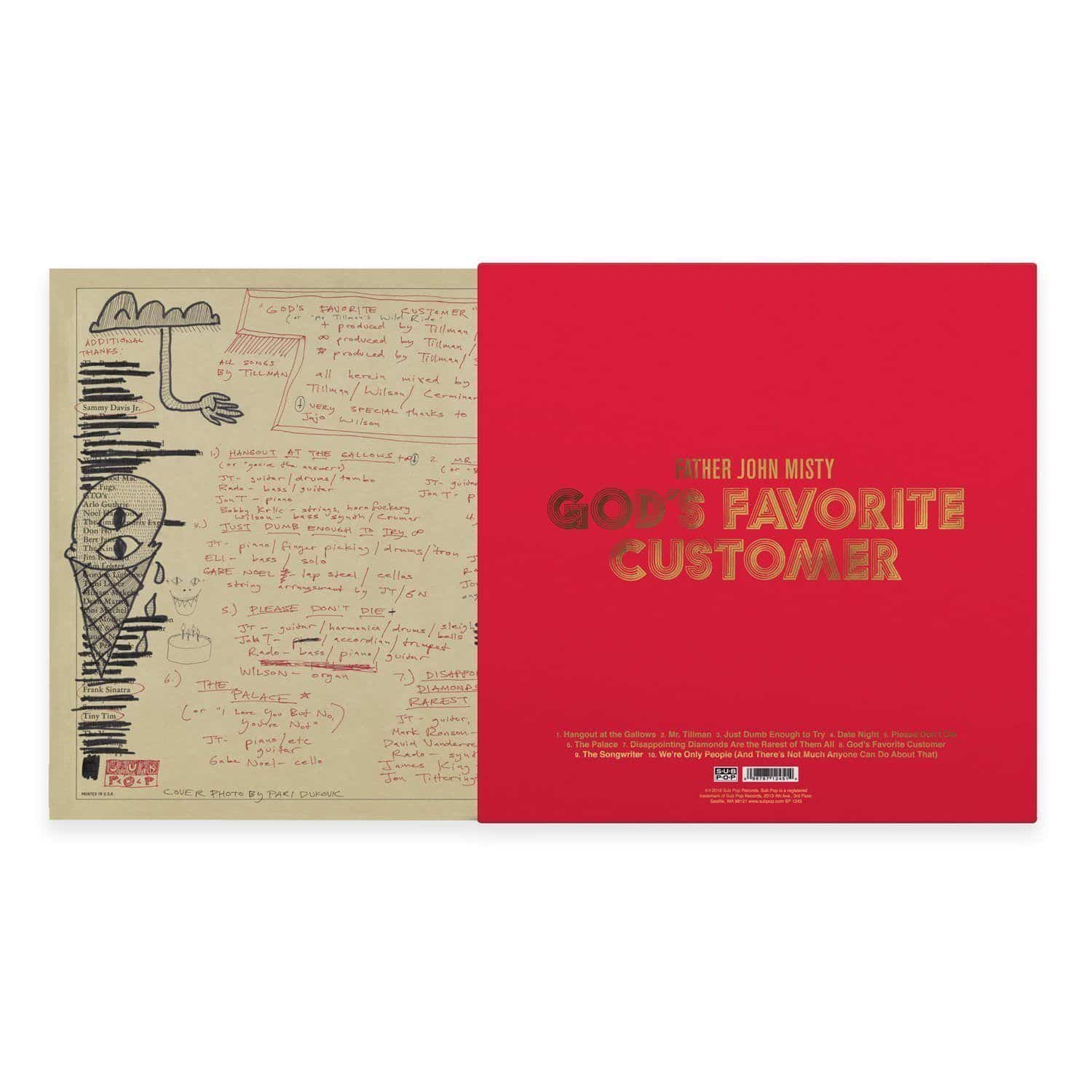 'God's Favorite Customer' Standard Vinyl LP
