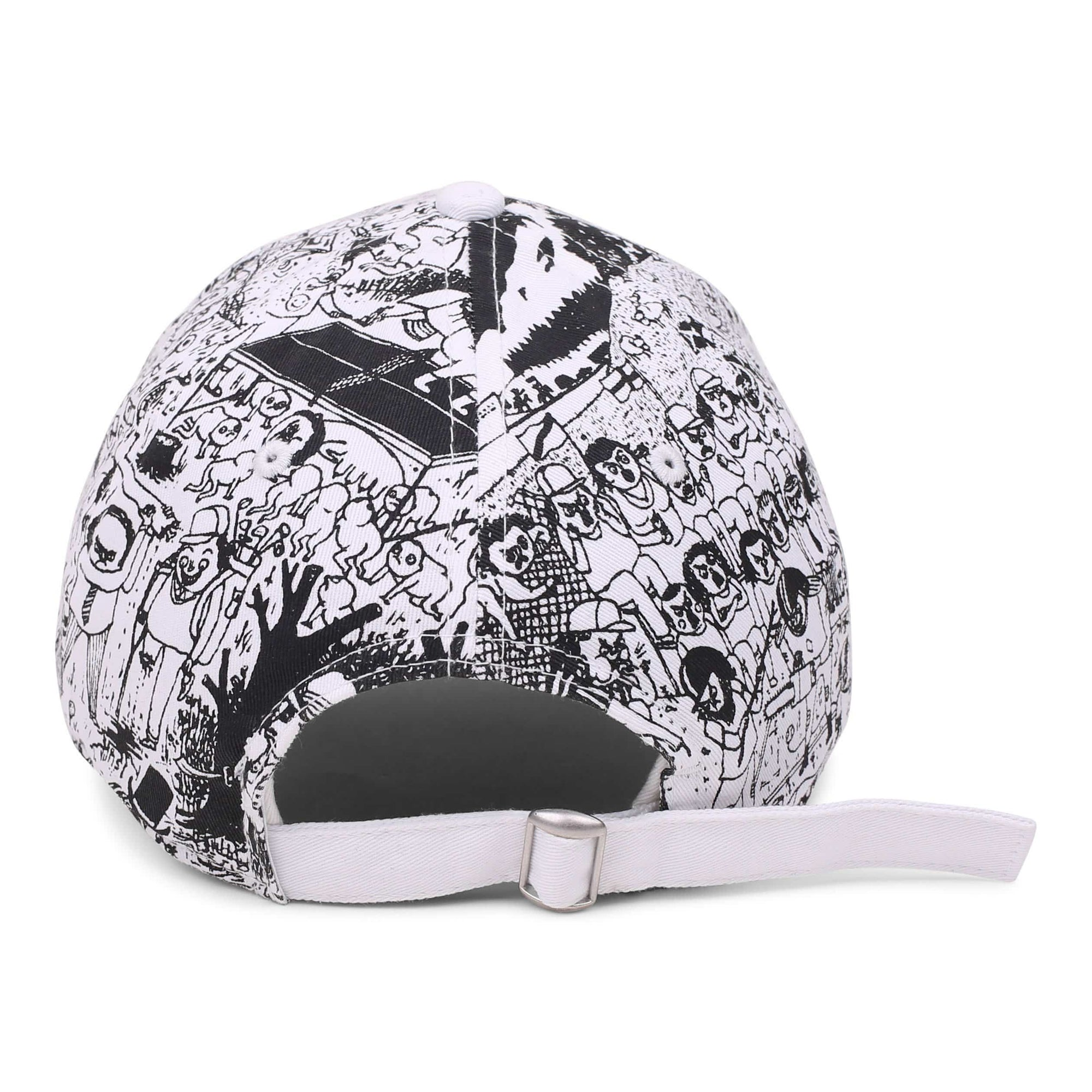 Father John Misty 'Pure Comedy' x New Era 9Twenty Dad Hat // White
