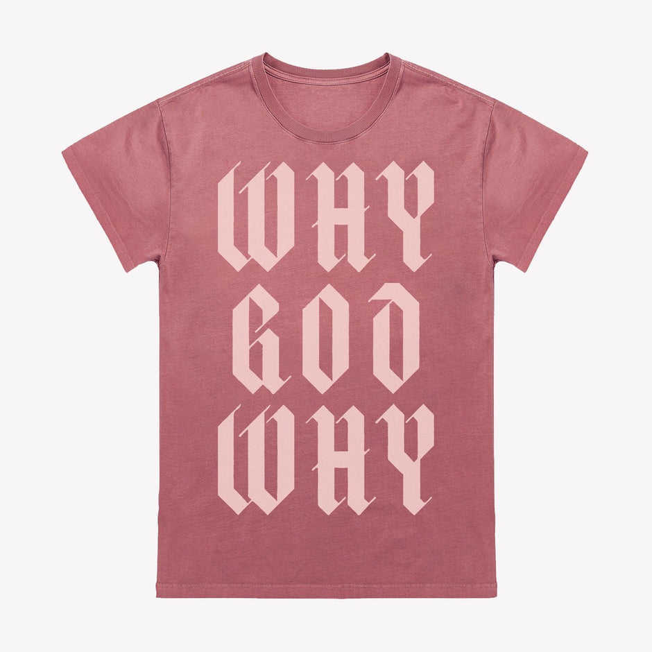 Why God Why Unisex T-Shirt