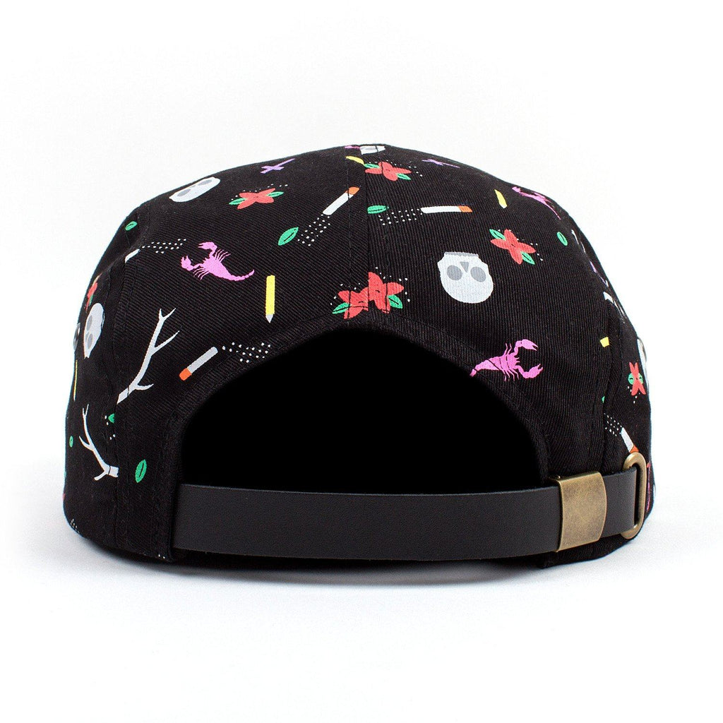 Father John Misty 'HONEYBEAR™' Custom Dye Sub 5-Panel Hat