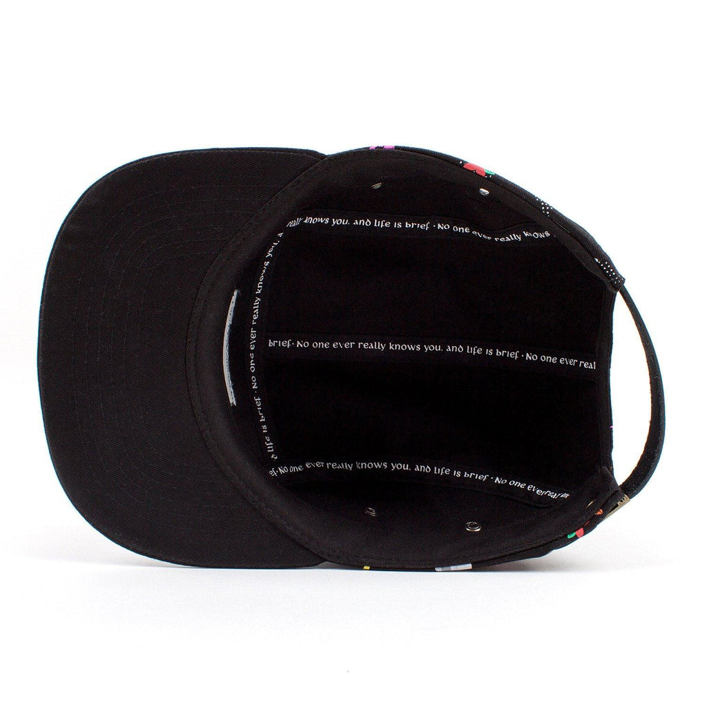 Father John Misty 'HONEYBEAR™' Custom Dye Sub 5-Panel Hat - Inside