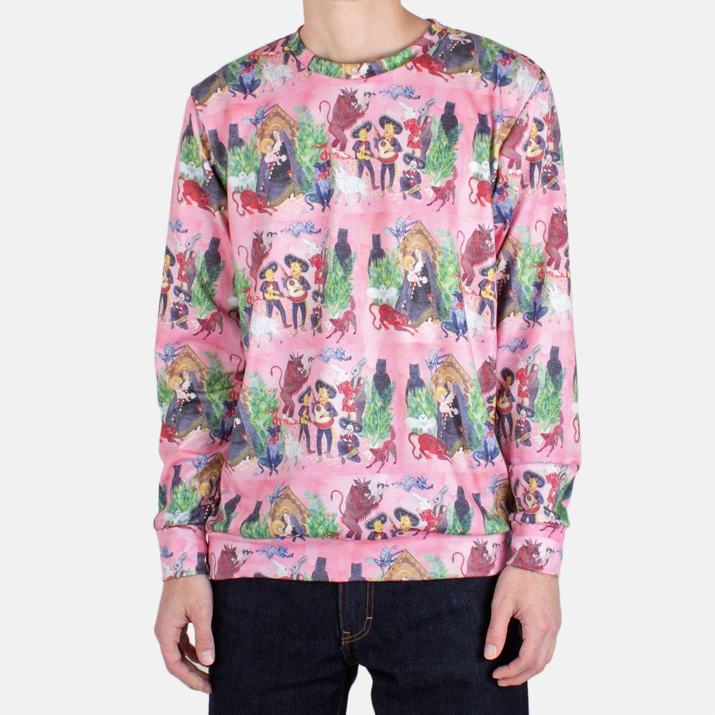 HONEYBEAR™ 'Album Cover' All Over Print Sweatshirt