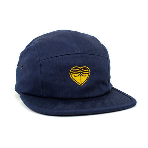 'HONEYBEAR™' Embroidered 5-Panel Hat