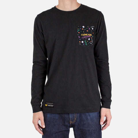 'I Love You, Honeybear™' Custom Pocket Long Sleeve