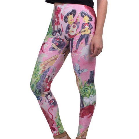 HONEYBEAR™ 'Album Cover' Leggings