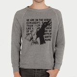 'The Horse Comanche' Crewneck Sweatshirt
