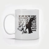 'The Horse Comanche' Coffee Mug
