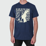 'The Horse Comanche' T-Shirt - Navy