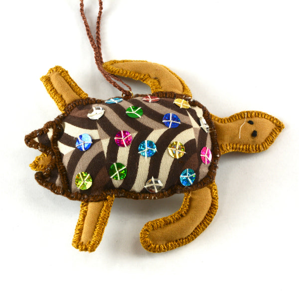 Sea turtle Christmas ornament
