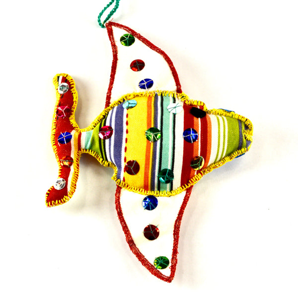 Angelfish Christmas ornament