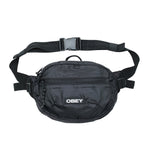 OBEY Commuter Waist Bag<p>Black