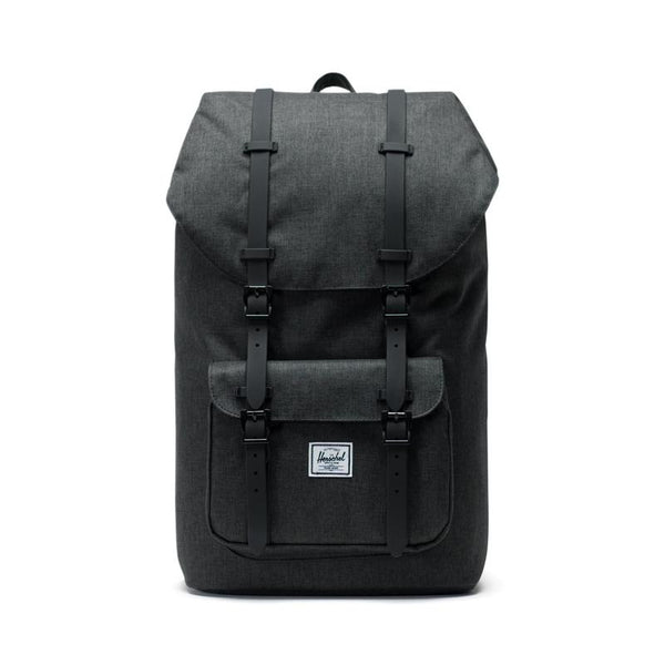 Herschel Little America<p>Black/Black Crosshatch