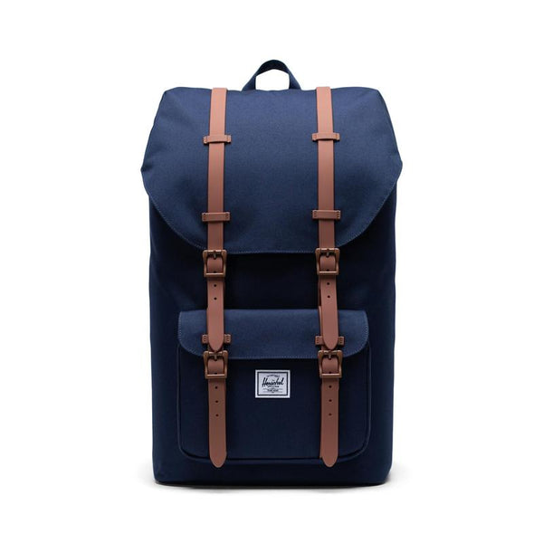 Herschel Little America<p>Peacoat /Saddle Brown