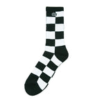 Obey Checkers Socks<p>Black Multi