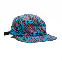 OBEY Eisley 5 Panel Hat <p> Brick Multi