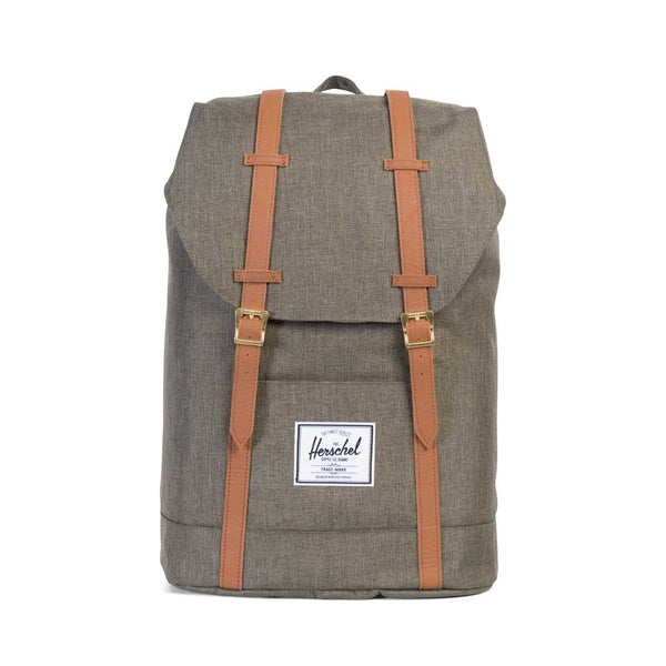 Herschel Retreat<p>Canteen Crosshatch/Tan