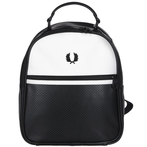 Fred Perry Contrast Panel Back Pack<p>Black/White