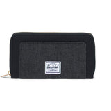 Thomas Wallet <p> Black/Black Crosshatch