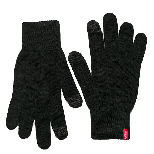 Levi's Ben Touch Screen Gloves<p>Black