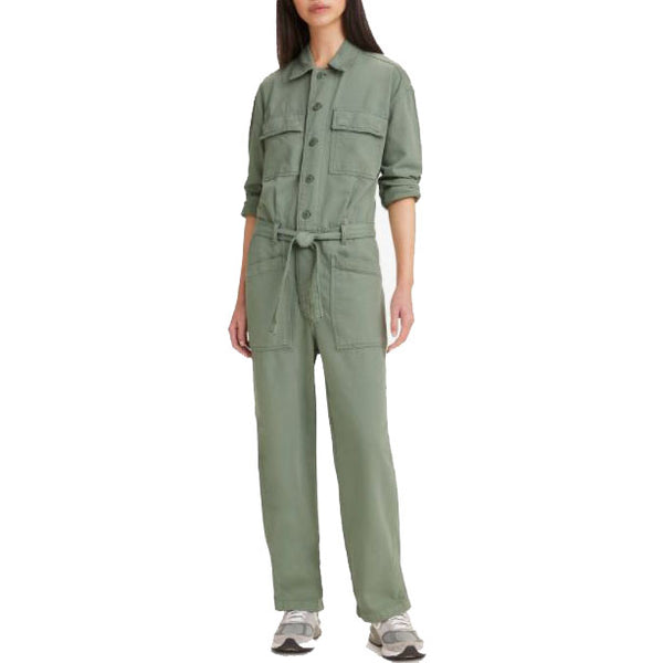Levi's Surplus Jumpsuit <p> Green