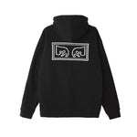 OBEY Eyes Pullover Hood<p>Black
