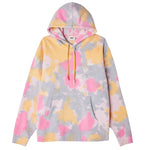 OBEY Sustainable Tie Dye Pullover Hood<p>Yellow Multi