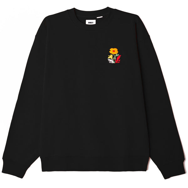 Obey Corben Crew Neck <p >Black