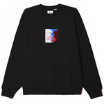 Obey Lips Crew Neck <p >Black