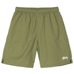 Stussy Stock Elastic Waist Short<p>Green
