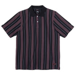 Stussy Revival Stripe Polo<p>Black