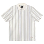 Stussy Revival Stripe Polo<p>Natural