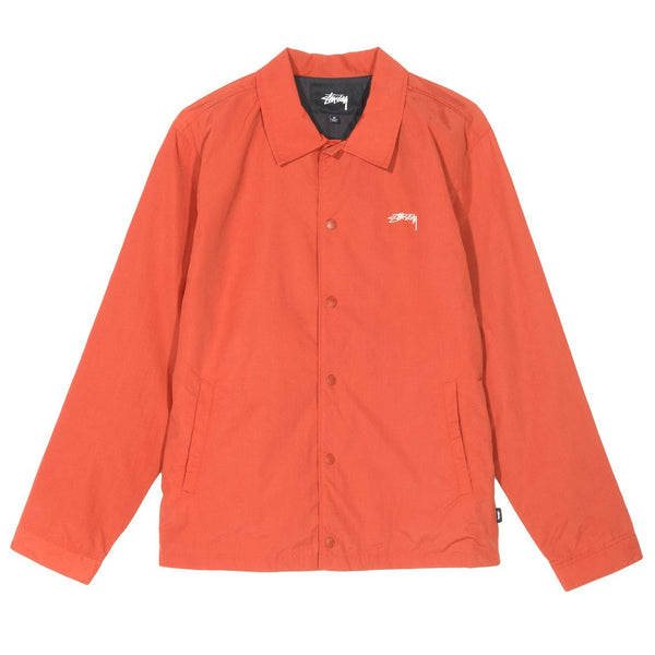 Stussy Classic Coach Jacket<p>Burnt Red