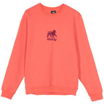 Stüssy Lion App. Crew <p>Salmon Orange