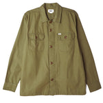 OBEY Reason Shirt<p>Army