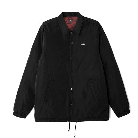 Obey Sanction Jacket<p>Black