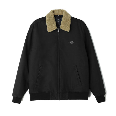 Obey Clubber Jacket<p>Black