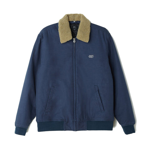 Obey Clubber Jacket<p>Navy