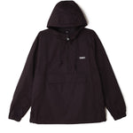 OBEY Recess II Anorak<p>Black